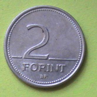 2 Форинта 1993 г Венгрия 2 Форінта 1993 р Угорщина