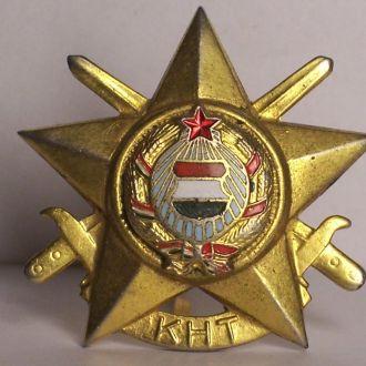 Знак отличник ВС, кокарда, Венгрия, ВНР 1960ые.