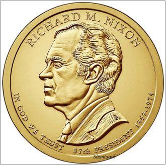 Shantal, США 1 доллар 2016, 37 президент Ричард Никсон (1969-1974)