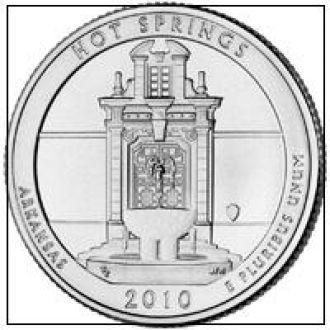 Shantaaal, США 25 центов 2010, 1 Парк Национальный парк Хот-Спрингс