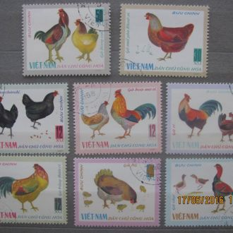 Вєтнам серія кури 8 шт