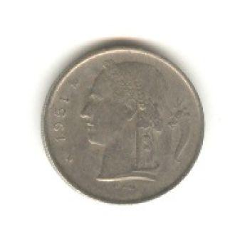1 франк Бельгия 1951