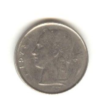 1 бельгийский франк 1973