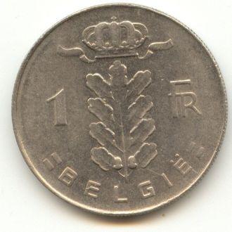 1 франк Бельгия 1975