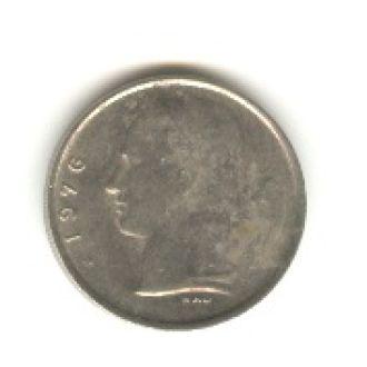 1 бельгийский франк 1976