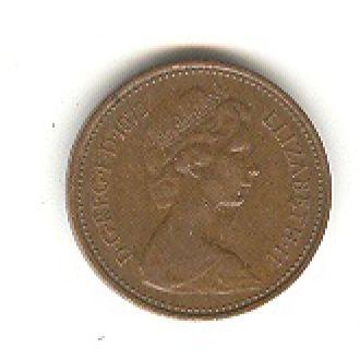 1 пенни 1973