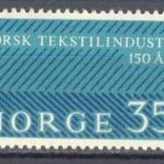 Норвегия 1963 текстиль пром-ть **