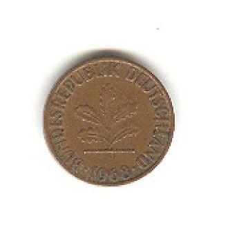1 пфенниг 1968 Д