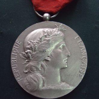 медаль Франция серебро №10251