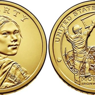 Shantaal, США 1 доллар 2015, Мохоки-рабочий