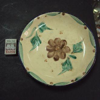 тарелка настенная керамика старая