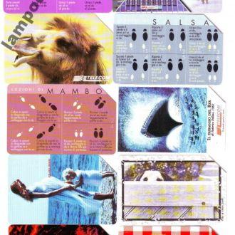 Телефонние карточки Італія 25