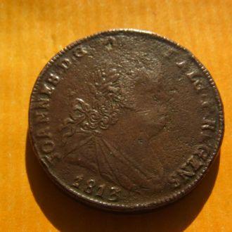 Португалия 40 рейс 1813 г. ОРИГИНАЛ!!