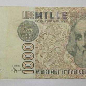 Италия 1000 лир (Микеланджело)