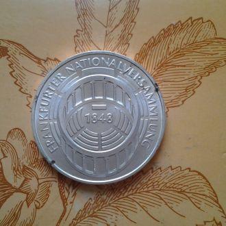 ФРГ, 5 марок 1973 г. Серебро.