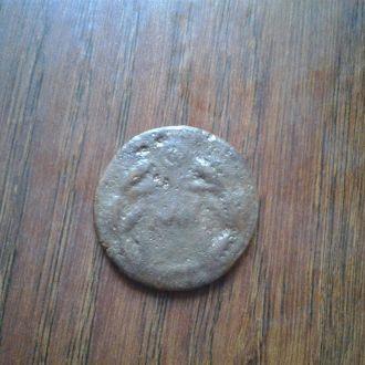 Древняя Греция. Неопределенная монета. Нечищенная.