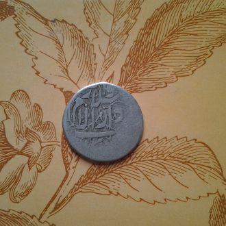 Индия, 1/4 рупии. Неизвестное княжество. Серебро.