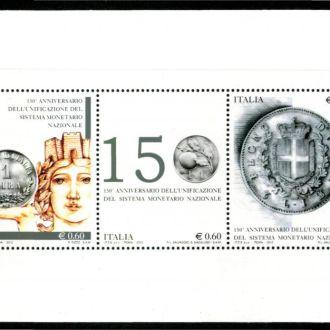 Италия 2012 Нумизматика Mi: Bl68 3,6 евро