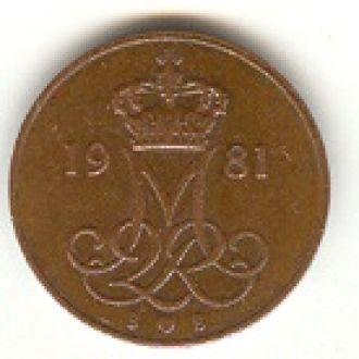 5 эре Дания 1981