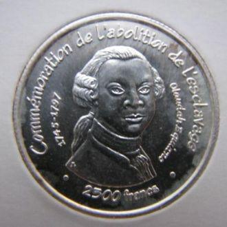Бенин 2500 франков