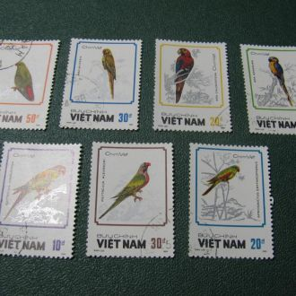 Фауна Птахи Попугаї В*єтнам