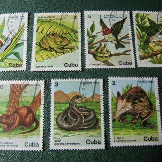 Фауна 1984 Куба