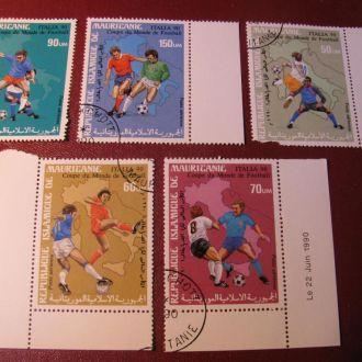 Спорт Футбол Мавритания 1990