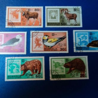 Фауна Тварини 1978 Монголія