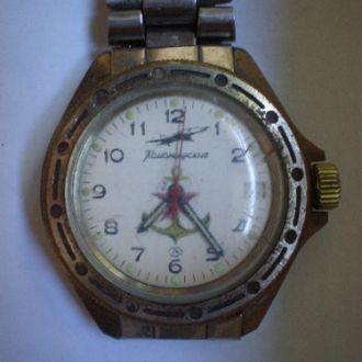 часы Восток Командирские рабочий баланс  08074