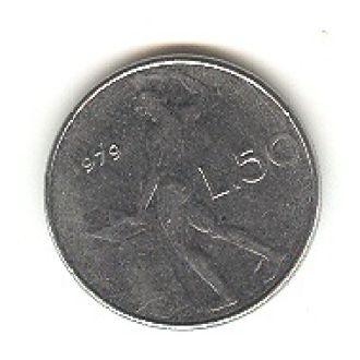 50 лир Италия 1979