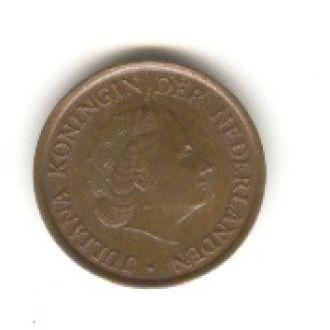 5 центов Нидерланды 1980
