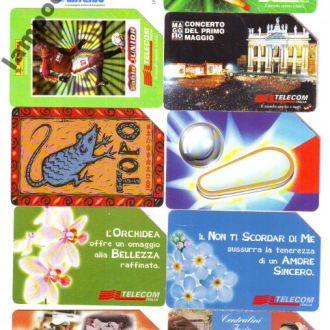 Телефонние карточки Італія 60
