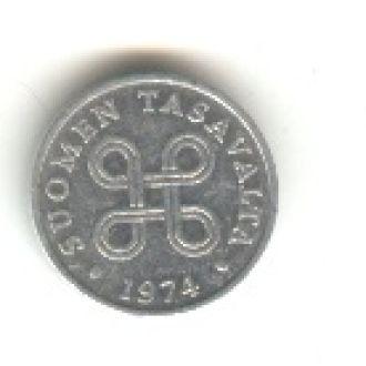 1 пенни 1974