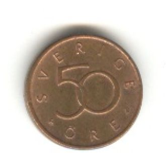 50 эре 1992 D