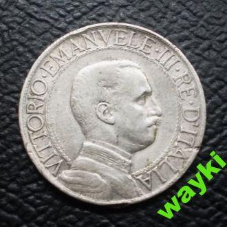 Италия 1 лира 1913 г. - нечастая!