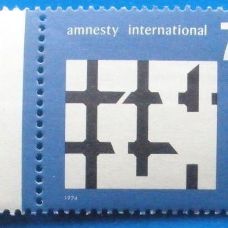 ФРГ. 1974 г. Международная амнистия