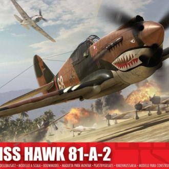Кёртисc Hawk 81-A-2 1/72 - Airfix1003