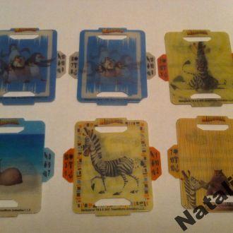 Коллекционные 3D карточки Мадагаскар Madagascar.