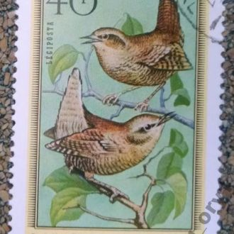 марки Венгрия фауна птицы