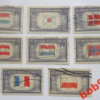 США 1943 - 44 гг