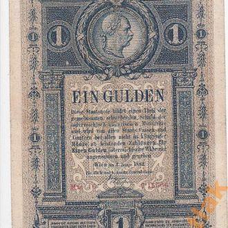 Австро - Венгрия 1 гульден 1882 год СОСТОЯНИЕ