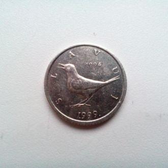 1 куна 1999 год - ХОРВАТИЯ
