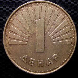 Македония 1 динар 2001 год