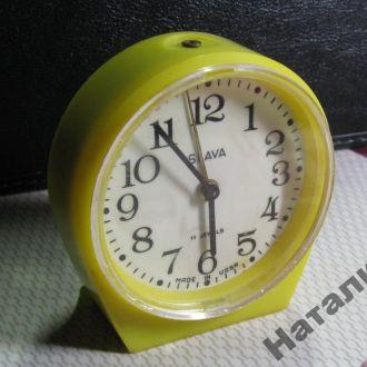 Часы будильник Слава СССР экспортная модель