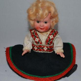 Кукла из Швеции, 17см, целлулоид, 50-е