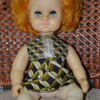 Кукла рыжик СССР одежда 40см