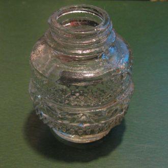старинная бутылочка для парфумов (копаная)18-19век