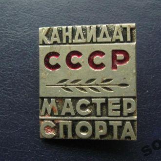 КАНДИДАТ МАСТЕР СПОРТА СССР