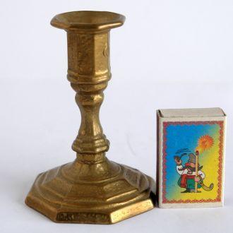 Антикварный бронзовый подсвечник s01, Germany