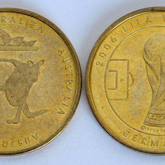 ЧМ по футболу 2006 памятная медаль к-да Австралии
